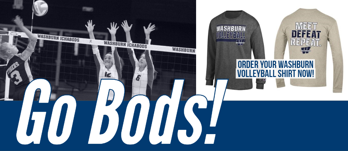 Washburn Volleyball Shirts