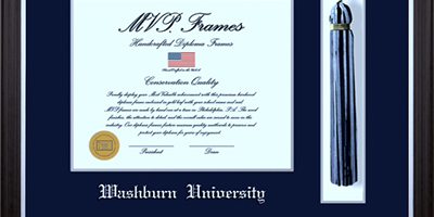 Washburn University Diploma Frames