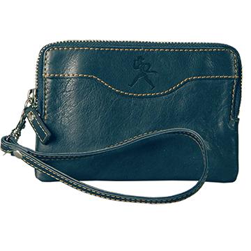 Wallet - Leather Zip Wristlet