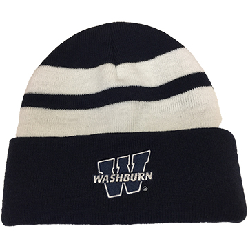 Stocking Cap - Washburn Blue and White