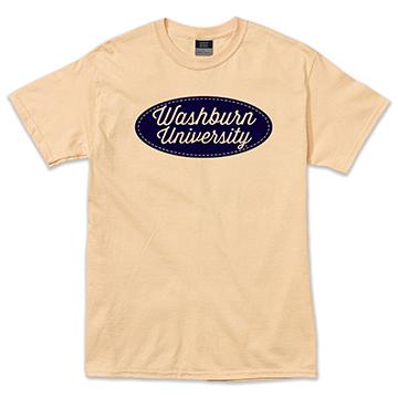 Tee - Washburn University Patch