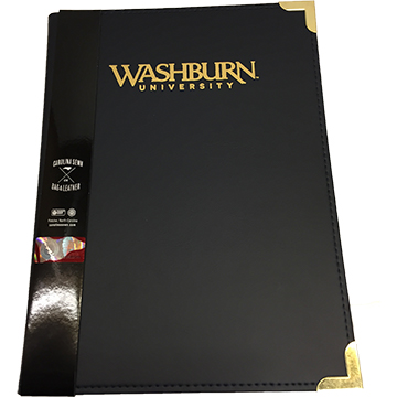 Padfolio - Washburn Gold