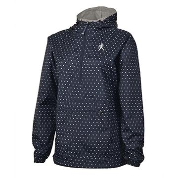 Jacket - Ladies Polka Dot WU Embroidery