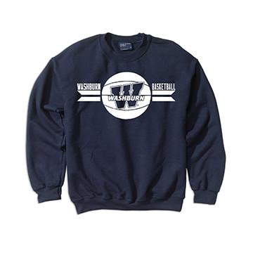 Sweatshirt - Washburn Basketball 2017