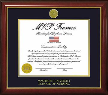 Washburn Diploma Frame - Doctor of Nursing Practice