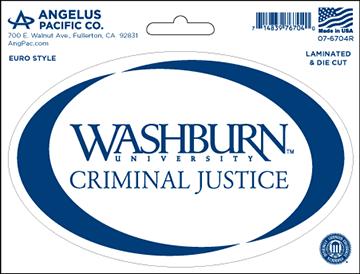 WU Decal - Criminal Justice
