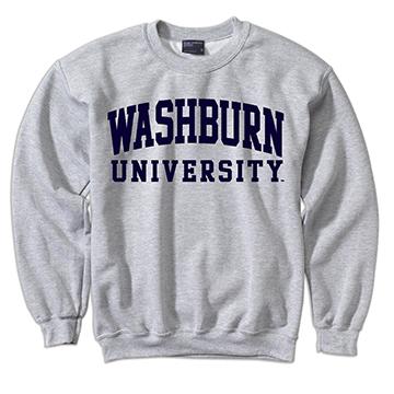 Sweatshirt - WASHBURN UNIVERSITY Classic Crew