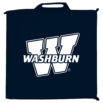 Image For Seat Cushion - Navy and White Washburn