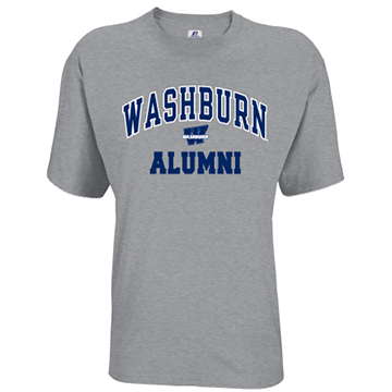 Image For Tee - Washburn Arch Alumni