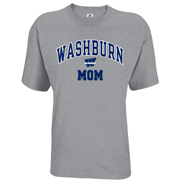 Image For Tee - Washburn Arch Mom