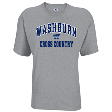 Image For Tee - Washburn Arch Cross Country