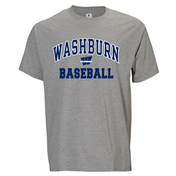 Cover Image For Tee - Washburn Arch Baseball