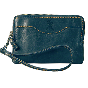 Image For Wallet - Leather Zip Wristlet