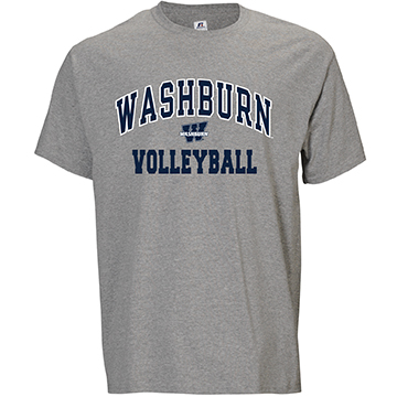 Image For Tee - Washburn Arch Volleyball