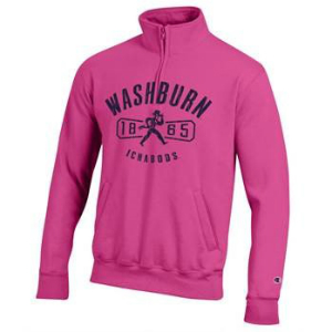 Cover Image For Sweatshirt - Quarter Zip Washburn 1865 Ichabods