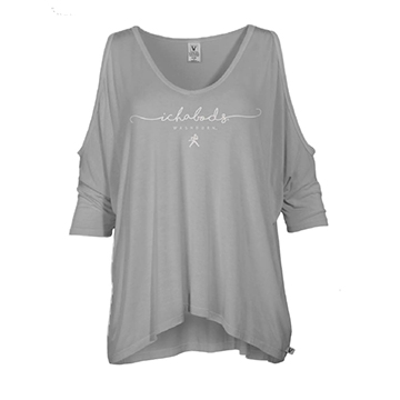 Image For Tee - Ladies Ichabods Cold Shoulder