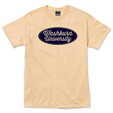 Image For Tee - Washburn University Patch