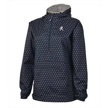 Image For Jacket - Ladies Charles River Polka Dot