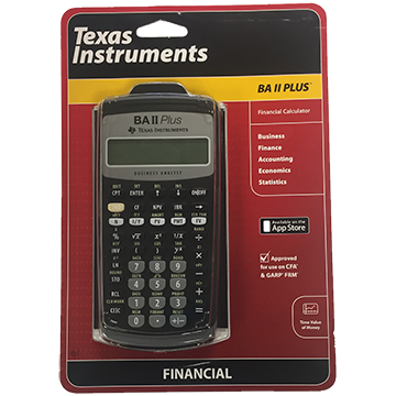 Image For Calculator - TI BA II Plus