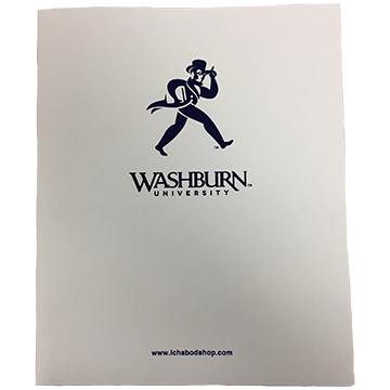 Image For Pocket Folder - Washburn University White