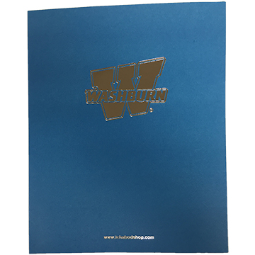 Image For Pocket Folder - Light Blue Washburn
