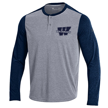 Image For Tee - Washburn Under Armour LS Henley