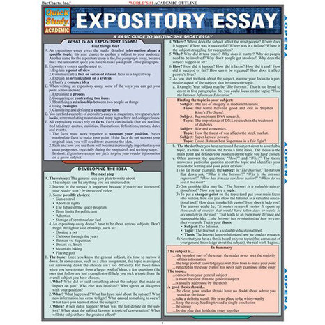 Image For Barcharts - Expository Essay