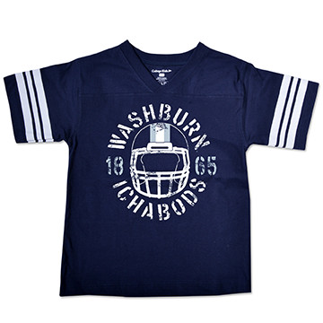 Image For Tee - Youth Washburn Football Helmet