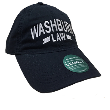 Image For Cap - Washburn Law W/Stripe
