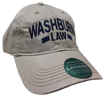 Cover Image For Cap - Washburn Law W/Stripe