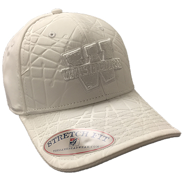 Image For Cap - White Embossed