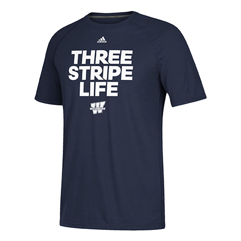 Image For Tee - Three Stripe Life