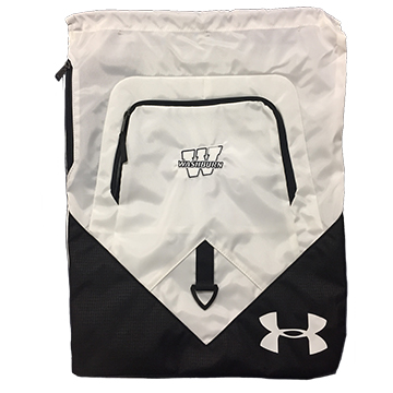 Image For Backpack - White Washburn Drawstring