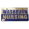 Cover Image for Licence Plate - Washburn Nursing