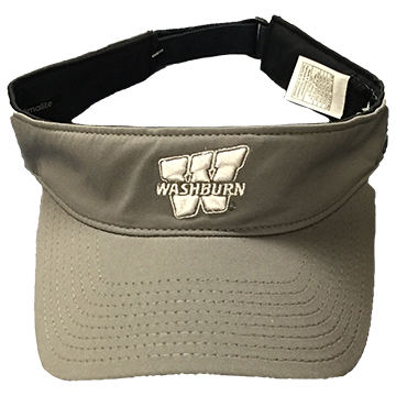 Image For Visor- Gray Washburn Adidas