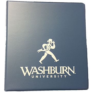 Cover Image For Binder - Washburn Hawaiian Blue