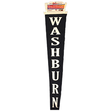 Image For Pennant - 8x48 Navy Washburn