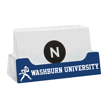 Image For Business Card Holder - Washburn University