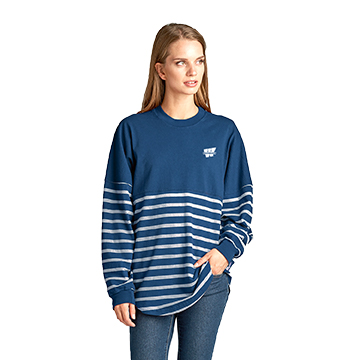 Image For Tee - LS Striped Spirit Jersey