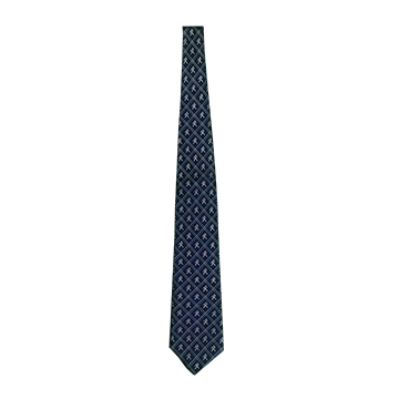Image For Tie - Ichabod Long Silk Diagonal