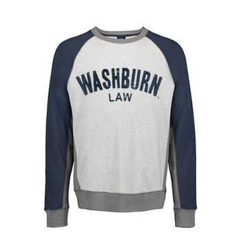 Image For Sweatshirt - Washburn Law Pepper Fleece