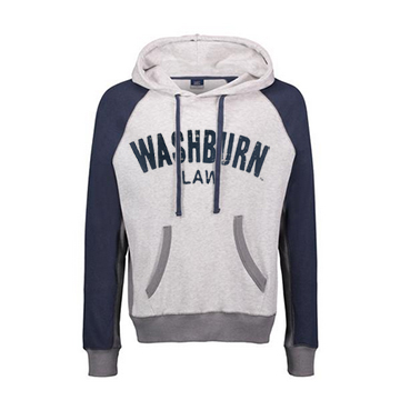 Image For Hoodie - Washburn Law Pepper Fleece
