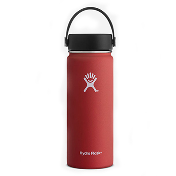 Image For Hydro Flask - 32 oz Red Wide Flex
