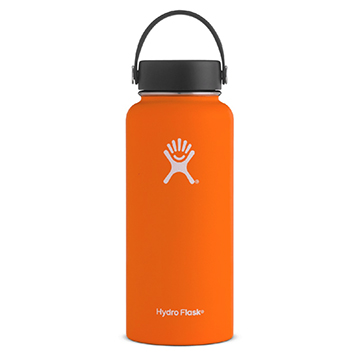 Image For Hydro Flask - 32 oz Orange Wide Flex