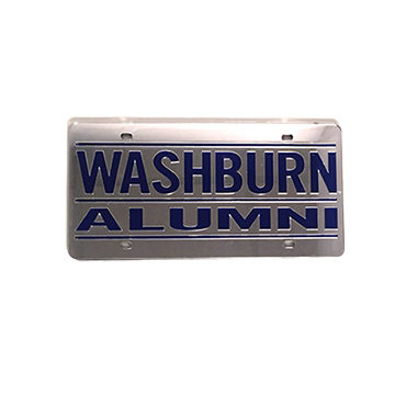 Cover Image For License Plate - Washburn Alumni