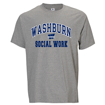 Image For Tee - Washburn Arch Social Work