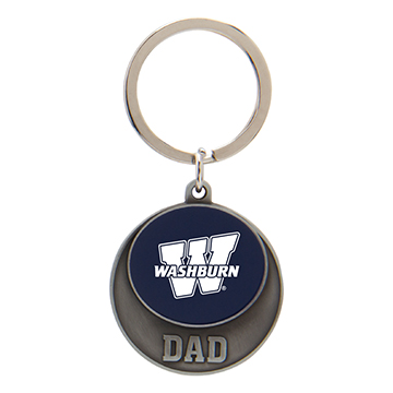 Image For Keychain - WU Dad Color Disc
