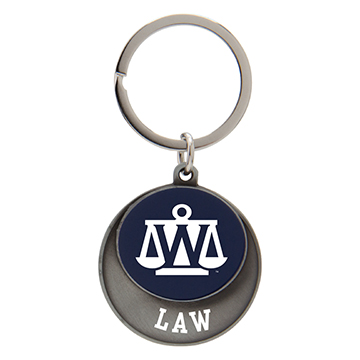 Image For Keychain - WU Law Color Disc