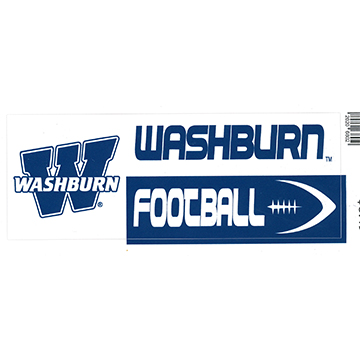 Image For Decal - Washburn Football