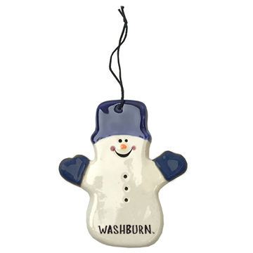 Image For Ornament - Spirit Products Snowman with Hat